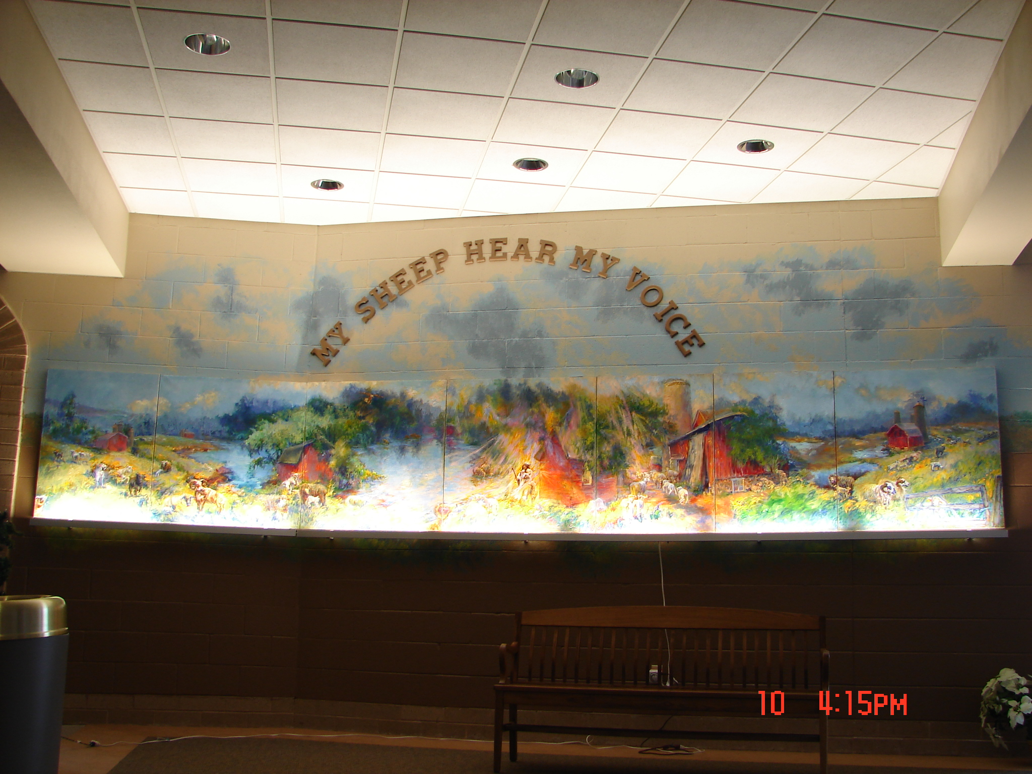Wallpaper murals biblical for Christian mural